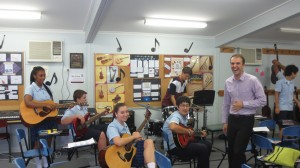 Music Class at Tyndale